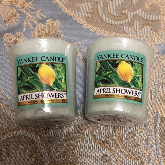 Yankee Candle Usa Rare Meadow Showers Wax Tart